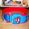 SE1. Modro-červený obojok SUPERMAN