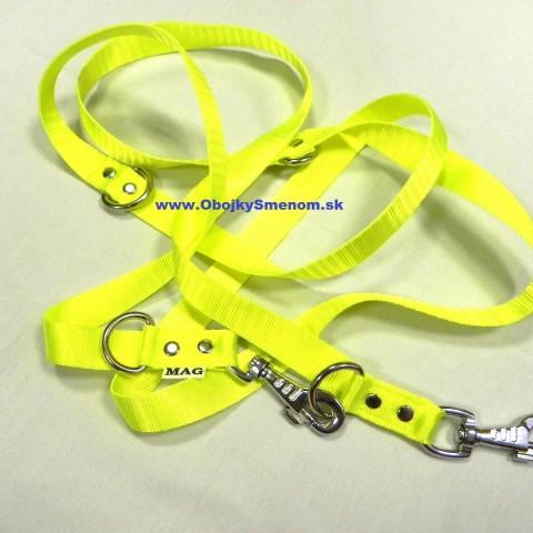 VNP16. Neonovo žlté vodítko – vôdzka – lead